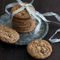 Cookies de chocolate y jengibre. Receta de navidad
