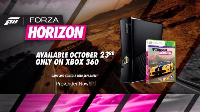 Forza Horizon el 9 de Octubre