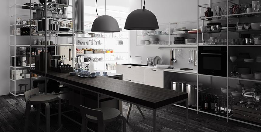Foto de Meccanica, un sistema de almacenaje muy versátil y minimalista (1/21)
