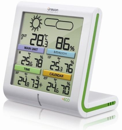 Oregon + ECO, estaciones meteorológicas para el hogar