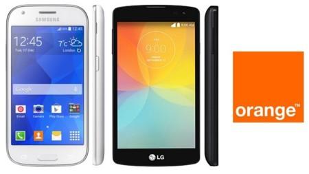 Precios Samsung Galaxy Ace 4 y LG F60 con Orange