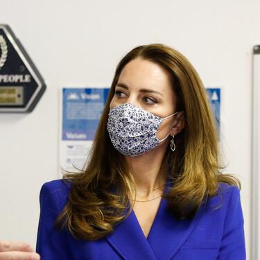 Kate Middleton se inspira en Lady Di en su último look con una americana de Zara