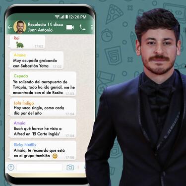 """Luis Cepeda raja sobre el grupo de WhatsApp de 'OT 2017': """"Hay algún divo o diva que ya no habla"""""""