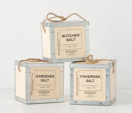 Las artesanas sales de French Farm Collection, perfectas para personalizar tu cocina