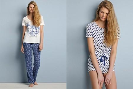 print oysho pijamas