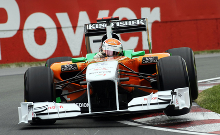 Adrian Sutil aún confía en poder competir con Force India en 2013