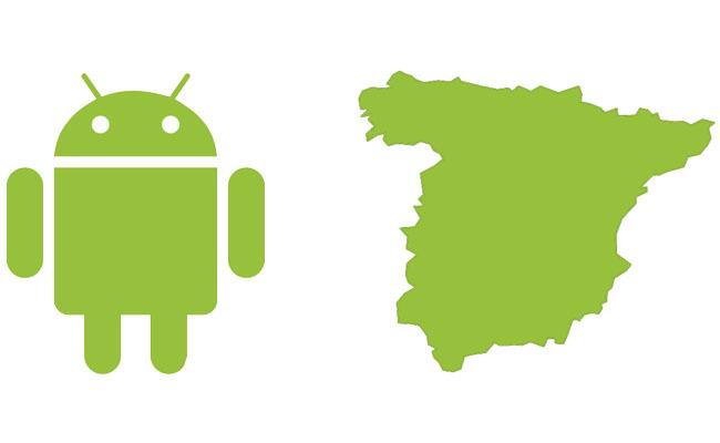 Android en España