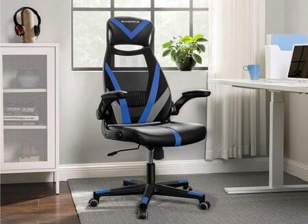 Esta silla de oficina Songmics es un chollo a 69 euros en Amazon: robusta, inclinable, con reposabrazos y reposacabezas