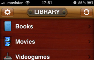 Delicious Library para iPhone