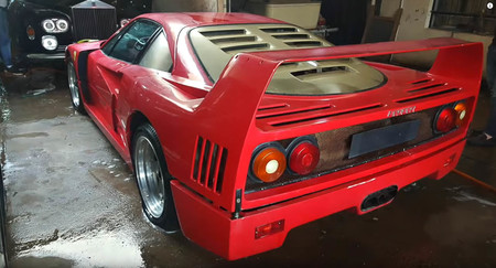 Ferrari F40 Uday Hussein 02