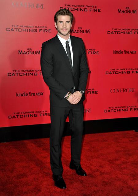 Liams Hemsworth los juegos del hambre