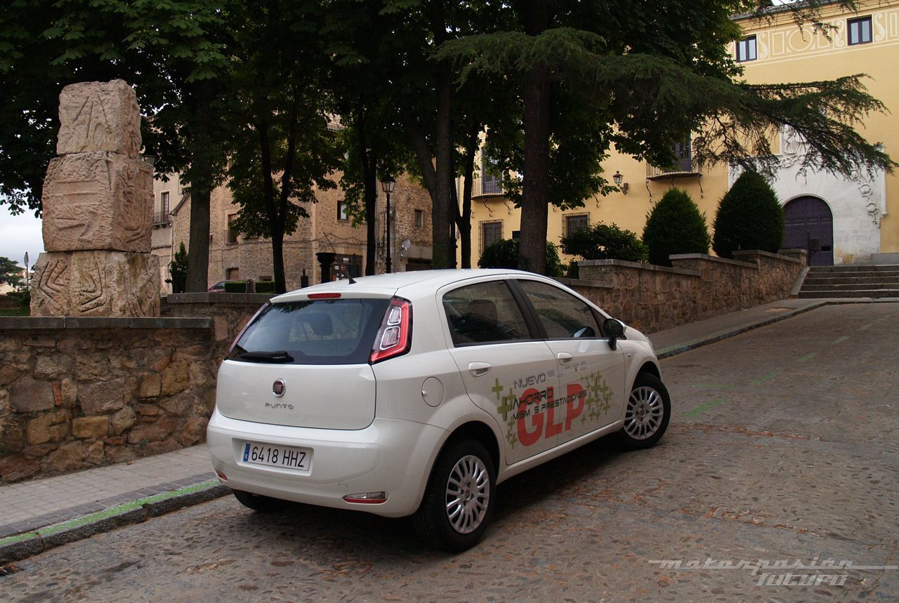 Foto de Fiat Punto GLP (prueba) (6/27)