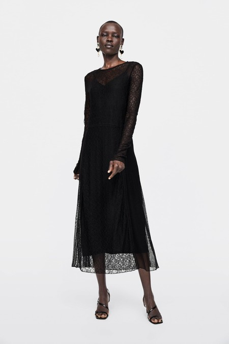 Vestido Zara Fiesta Lbd 07