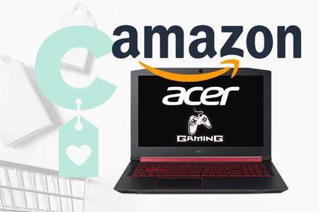 Selección de portátiles Acer para jugar en Amazon: modelos Nitro y Predator a precios rebajados