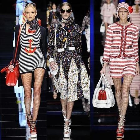 D&G en la Semana de la Moda de Milán Primavera Verano 2009