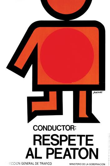 1976 Conductor Respete Al Peaton