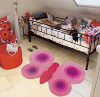 Originales alfombras para la habitación de los niños