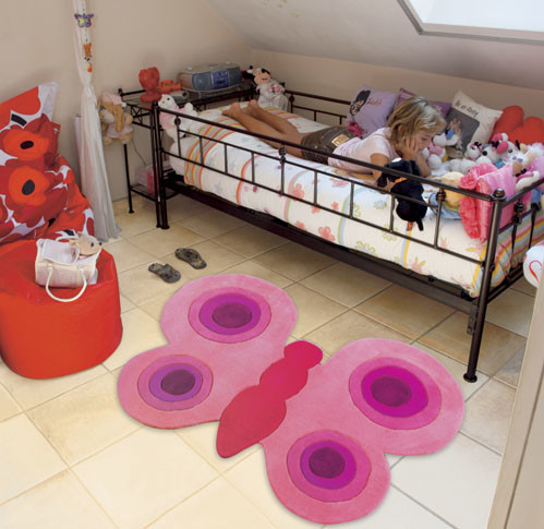 Originales alfombras para la habitaci n de los ni os - Alfombras habitacion ninos ...