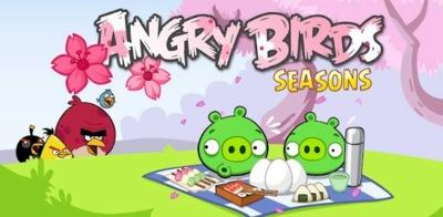 Angry Birds Seasons se actualiza para recibir a la primavera