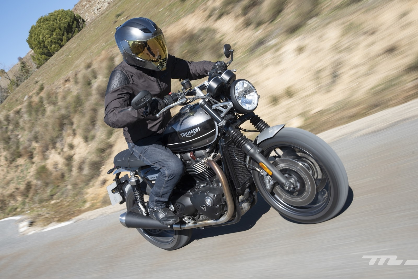 Foto de Triumph Speed Twin 2019, prueba (6/80)