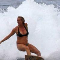 Bethany Hamilton sigue surfeando a pesar de estar embarazada