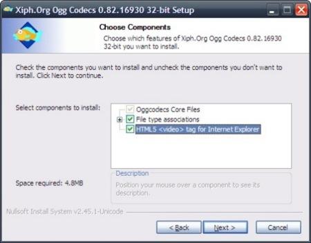 Internet Explorer puede reproducir vídeos usando HTML5 con un plugin