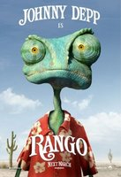 'Rango' con Johnny Depp, cartel y tráiler