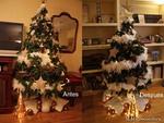 Cómo reducir el tamaño de tu árbol de Navidad