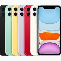 """iPhone 11: doble cámara con ultra gran angular y la misma potencia para el colorido """"hermano pequeño"""" de la familia"""