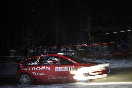 Sebastien Loeb y su C4 WRC empiezan el Mundial arrasando