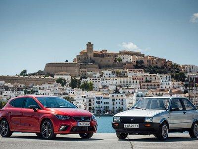 En video: así ha cambiado el SEAT Ibiza en 30 años