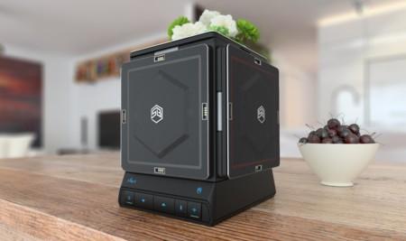 Parece un transformer, pero en realidad es un altavoz modular que diseñas a tu gusto