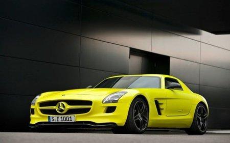 Mercedes SLS AMG E-Cell, un juguete muy serio