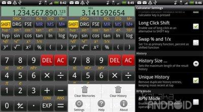 RealCalc, la calculadora científica definitiva para Android