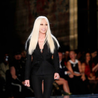 Donatella Versace Alta Costura Verano 2014