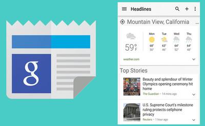 Noticias y clima de Google añade tema oscuro, búsqueda y gráficos