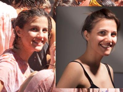 El misterio de la chica de la Tomatina y su doble que la busca desde hace hace años