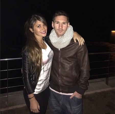 Qué tierno se nos pone Messi felicitando el cumpleaños a su churri