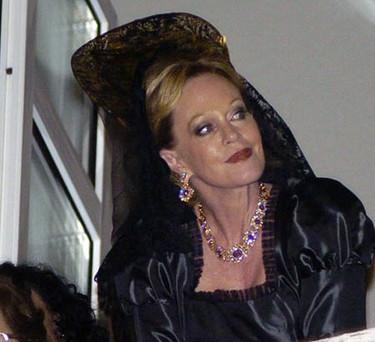 ... y Melanie Griffith de mantilla en Semana Santa