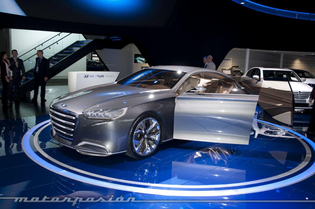 Foto de Hyundai HCD-14 Concept en el Salón de Detroit 2013 (1/7)