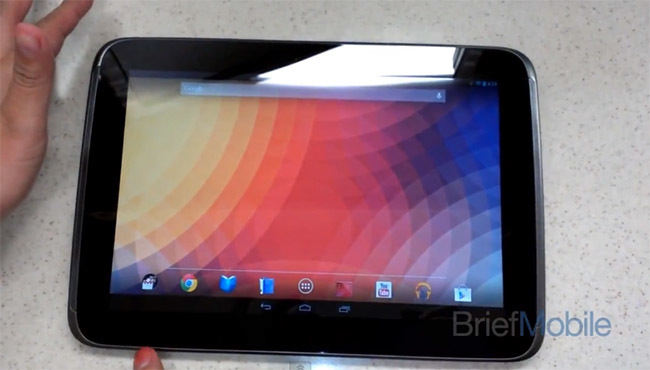 Nexus 10 video