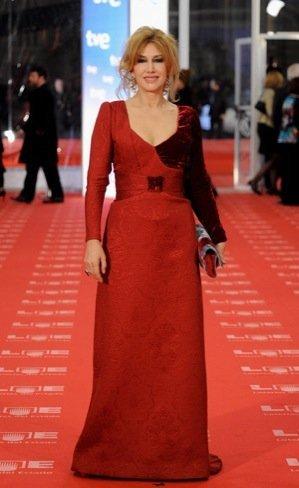 Peor vestidas Goya 2011: Victoria Vera