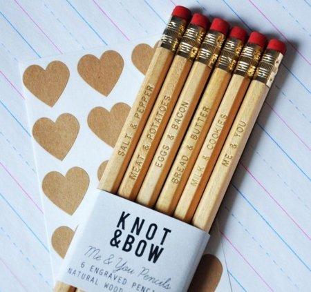 Me&You, lápices románticos