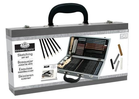 ¿Te gusta dibujar? El maletín de 58 piezas Royal & Langnickel Essentials cuesta sólo 25,71 euros en Amazon
