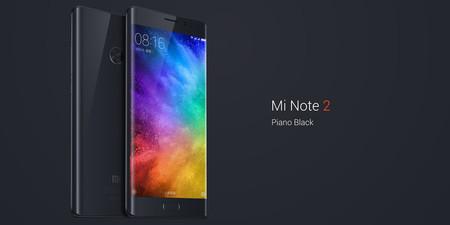 Xiaomi Mi Note 2, en versión global con 6GB de RAM, por 417,08 euros