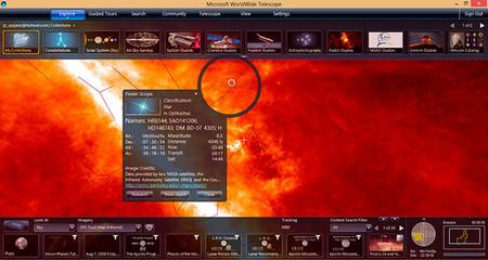 World Wide Telescope Infrarrojos