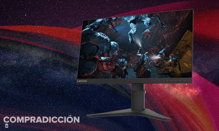 Este monitor gaming es todo un chollazo ahora en Amazon: Lenovo G25-10 por sólo 169,99 euros