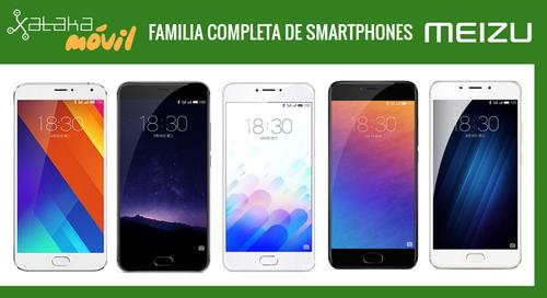 Así queda el catálogo completo de móviles Meizu tras la llegada del nuevo Meizu M3E