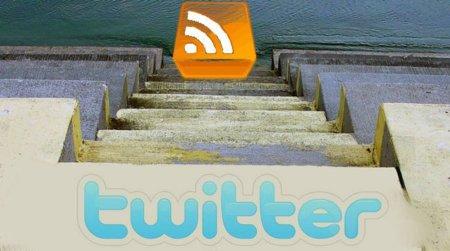 Los RSS pierden fuerza en favor de Twitter