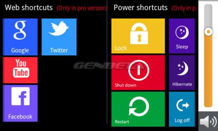 Windows 8 Controller personalización